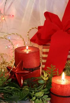 Top Christmas Candle Decorations Ideas | Christmas Celebrations