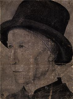 Portrait of Man with hat, 1475  Jean Fouquet