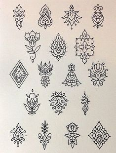 Tattoos # + From # 120 Hot Tattoos, Mini Tattoos, Flower Tattoos, Body Art Tattoos, Tattoo Drawings, Small Tattoos, Tatoos, Henna Tattoo Designs, Mehndi Designs