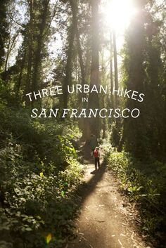 Urban Hikes in San Francisco.San Francisco, and why the hell not? Oh The Places You'll Go, Places To Travel, San Francisco Travel, Lands End San Francisco, San Francisco Hikes, Living In San Francisco, Wakeboard, San Fransisco, California Dreamin'