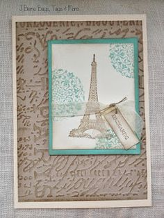 Shabby Eiffel Tower: J Blume Bags, Tags & More