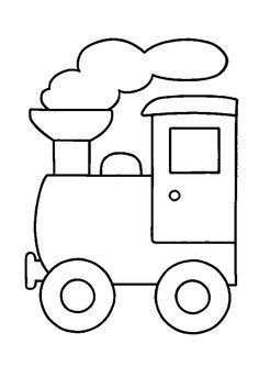 Kleurplaat peuter kleurplaat bus pictures pinterest - Train en dessin ...