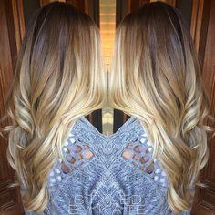 'California Blonde', all winter long. ✌️ #Styledbykate