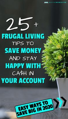 Are you looking for some legit and easy ways to save big money in your everyday life in 2020? Here are some great frugal living tips that anyone can use to cut costs with out stressing! Don't wait to get started...check out these frugal living tips and tricks now! #savemoney #frugal #frugalliving #personalfinance