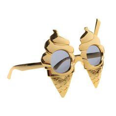 50f5015a9e Novelty Sunglasses Ice Cream Cone Shape Fancy Dress Hen Night Stag Do Party
