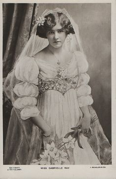 << LOVE THIS WISH IT SHOWED THE WHOLE DRESS!>> All sizes | Gabrielle Ray (J. Beagles G 731 F) 1906 | Flickr - Photo Sharing!
