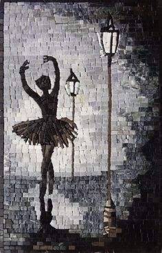 Street Dancer Mosaic Design - Handmade Mosaic Artworks And Designs - Street Dancer Mosaic Design Handmade tile mosaic art composed of natural marble that is guaranteed to transform your space. Mosaicist: Haith D. Mosaic Tile Art, Mosaic Artwork, Mosaic Crafts, Mosaic Projects, Marble Mosaic, Mosaic Glass, Fused Glass, Mosaic Mirrors, Glass Wall Art