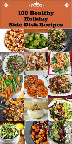 Add bursts of color to your holiday table with these Healthy Holiday Side Dish Recipes featuring fresh produce!