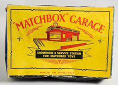 """Vintage """"Matchbox"""" Garage Showroom & Service Station Made in England Toy #Matchbox"""