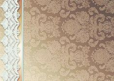 Taupe Damask Backing Paper matches with White Floral Toppers on Craftsuprint designed by Sue Douglas -
