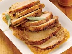 Braised Pork with Lemon and Sage