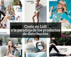 Llega un cambio de paradigma: marcas blancas que hacen publicidad de sus productos. Custo en #Lidl o la paradoja de los productos de distribución aldeavillana.com