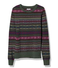 Women's Signature Cotton Fisherman Tunic Sweater, Washed   Free ...