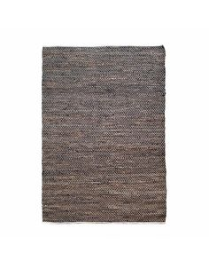 Teppich Sisal Leder 160 X 230 Cm - Schwarz - My Dutch Living Room