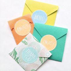 No mess No fuss Watercolor Labels DIY #watercolor #package #labels