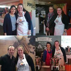 """Je reviens des Journées Marmiton avec des étoiles plein les yeux... 😀  J'ai fait des belles rencontres entre autres des blogueurs culinaire que je suis quels temps et j'ai eu plaisir à rencontrer """"en vrai""""... Comme quoi les réseaux favorisent les rencontres.. 😀  Dans l'ordre @sanjeesandra, @nathalielielie, @doriancuisine , @aurelieakalie, @nadji_keb, @mimicuisine, @stef_o_fourneaux. #journéesmarmiton #journeesmarmiton #marmiton #blog #blogculinaire Comme, Baseball Cards, Sports, Blog, Instagram, Eyes, Kitchens, Hs Sports, Blogging"""