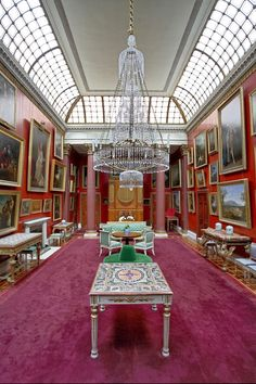 Main Art Gallery, Attingham Park, Shropshire