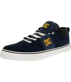 Dc Men's Lynx Vulc Mid Ankle-High Synthetic Fashion Sneaker
