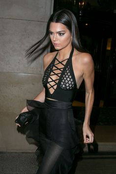 Kendall Jenner Shows Off Her 'Balmain Booty'  - ELLE.com