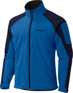 The Marmot Gravity soft-shell jacket offers a high level of water resistance…