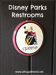Disney Parks' Restrooms – Yes, I'm That MOM Who Takes Pictures Inside www.afrugalfriend.net