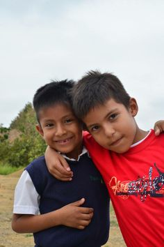 Second grade students Justin and Angel. Thank YOU for helping children in Ecuador receive a better education!