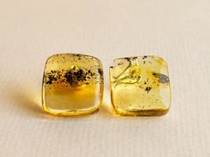 Amber jewelry summer set/ flat cube pendant & stud earrings | Etsy Summer Set, Amber Jewelry, Baltic Amber, Daily Wear, Green Colors, Etsy Earrings, Happy Shopping, Cube, Flats