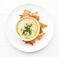 Baba Ghanoush: Prick a large eggplant with a fork. Grill on medium-high until soft. Peel eggplant, place in a food processor and pulse with 2 minced garlic cloves, 1/4 tsp. cumin, 1/4 cup tahini, 1/4 cup lemon juice, salt and pepper. While processing, drizzle in olive oil.