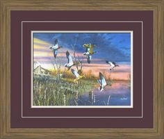 Ducks | Jim Hansel | Framed Art | Wall Decor | Art | Pictures Frames and More | Winnipeg | MB | Canada