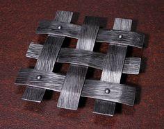 Hand Forged Iron Lattice Trivet by IronAntlerForge on Etsy, $50.00