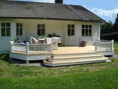 Altanräcke IV (over and out) Walkway, Building A House, Porch, Patio, Outdoor Decor, Design, Sunrooms, Home Decor, Decks
