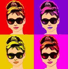 Audrey Hepburn_Pop Art