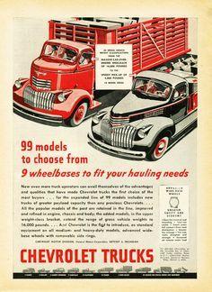 1946 Chevrolet Truck Ad