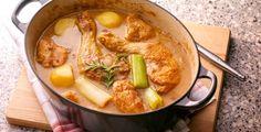 Recept van Kip gestoofd in abdijbier