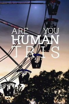 Are you human? #Divergent