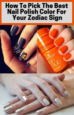 Choosing a nail polish color for ladies can be tough. But your Zodiac Sign might be able to help you make that decision. Learn which nail polish color is ideal for your zodiac sign. Best Nail Polish, Nail Polish Colors, Beauty Makeup Tips, Beauty Hacks, Royal Colors, Fun Nails, Zodiac Signs, Health Tips, Fashion