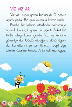 1. Sınıf Konu Anlatım HİKAYELER (OKUMA DİZİSİ) Learn Turkish Language, Primary School, Montessori, Blog, Education, Learning, Kids, Manualidades, Turkish Language