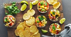Ceviche med lax och räkor Ceviche, 20 Min, Nachos, Mexican, Ethnic Recipes, Party, Receptions, Parties