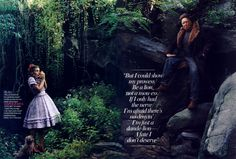 The Wizard of Oz with Keira Knightley by Annie Leibovitz for Vogue.