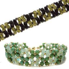 Easy Crystal Bracelet from Deb Roberti   ~ Seed Bead Tutorials