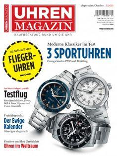 Uhrenmagazin 5/2015: Extra: Flieger-Uhren - Omega versus IWC & Breitling - Preisübersicht: Der ewige Kalender - Uhren im Weltraum