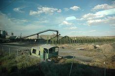 Serie #Viajesentren. Planta de tratamiento de gravas y alquitranes. Albacete. España. Foto de#ignacioklindworth 2006
