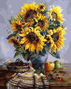 DIY Oil Painting, xhorizon TM FLK Paint by Number Kit - S...