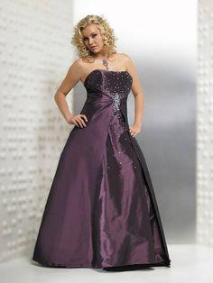 bridesmaid dress purple | Bridesmaid Dresses Collections: 2013 Plus Size Purple Bridesmaid Dress ...