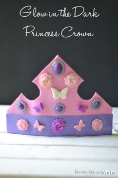 Architecture of a Mom: Glow in the Dark Crown #ad #plaidcrafts #modpodge #decoden