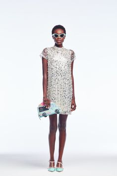 Kate Spade sequined shift.