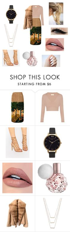 """""""Untitled #102"""" by aisan ❤ liked on Polyvore featuring Topshop Unique, ALDO, Olivia Burton, Anatomy Of and ERTH"""