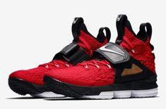 3a497177aaa Were You Able To Pick Up The Nike LeBron 15 Red Diamond Turf Today  Just