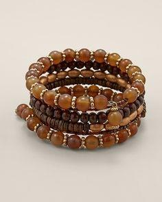 Chico's Tawny Coil Bracelet #chicos Style: 570101321 $10.00 Chinos.com