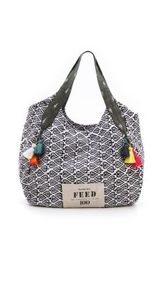 Rachel Roy Limited Edition FEED India Tote Bag. #ethicalfashion